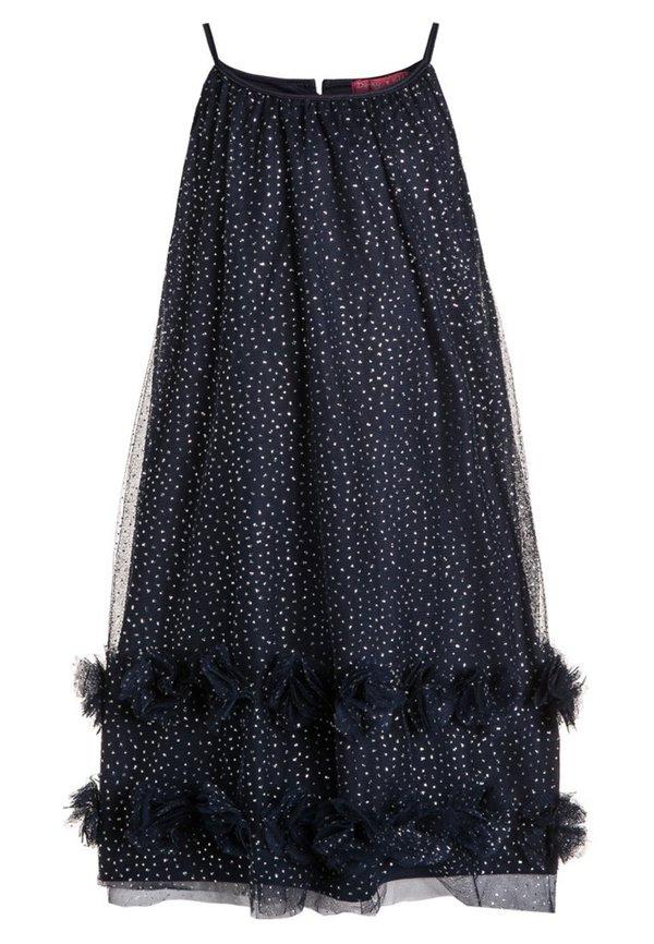 Derhy Carlotta Cocktailkleid / Festliches Kleid Marine Von