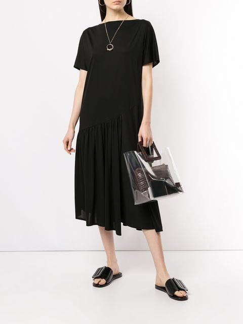 Des Prés Kleid Mit Tiefer Taille Damen 19 Kleidung