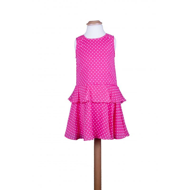 Design Kleid Gepunktet Gr 110  116