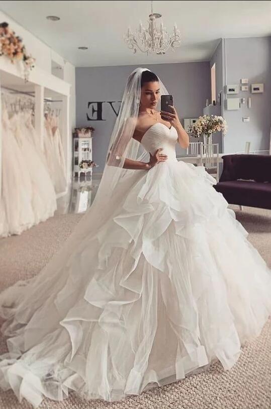Designer Hochzeitskleider Prinzessin  Brautkleider