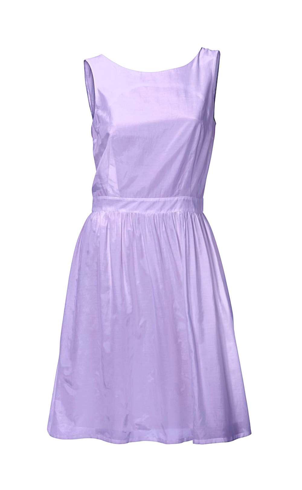 Designerkleid Flieder  Kleider  Outlet Modeshop