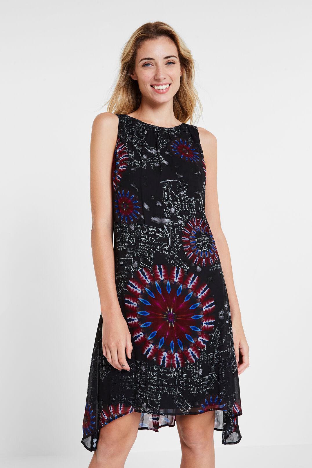 Desigual Asymmetrisches Viskosekleid | Damen Kleider