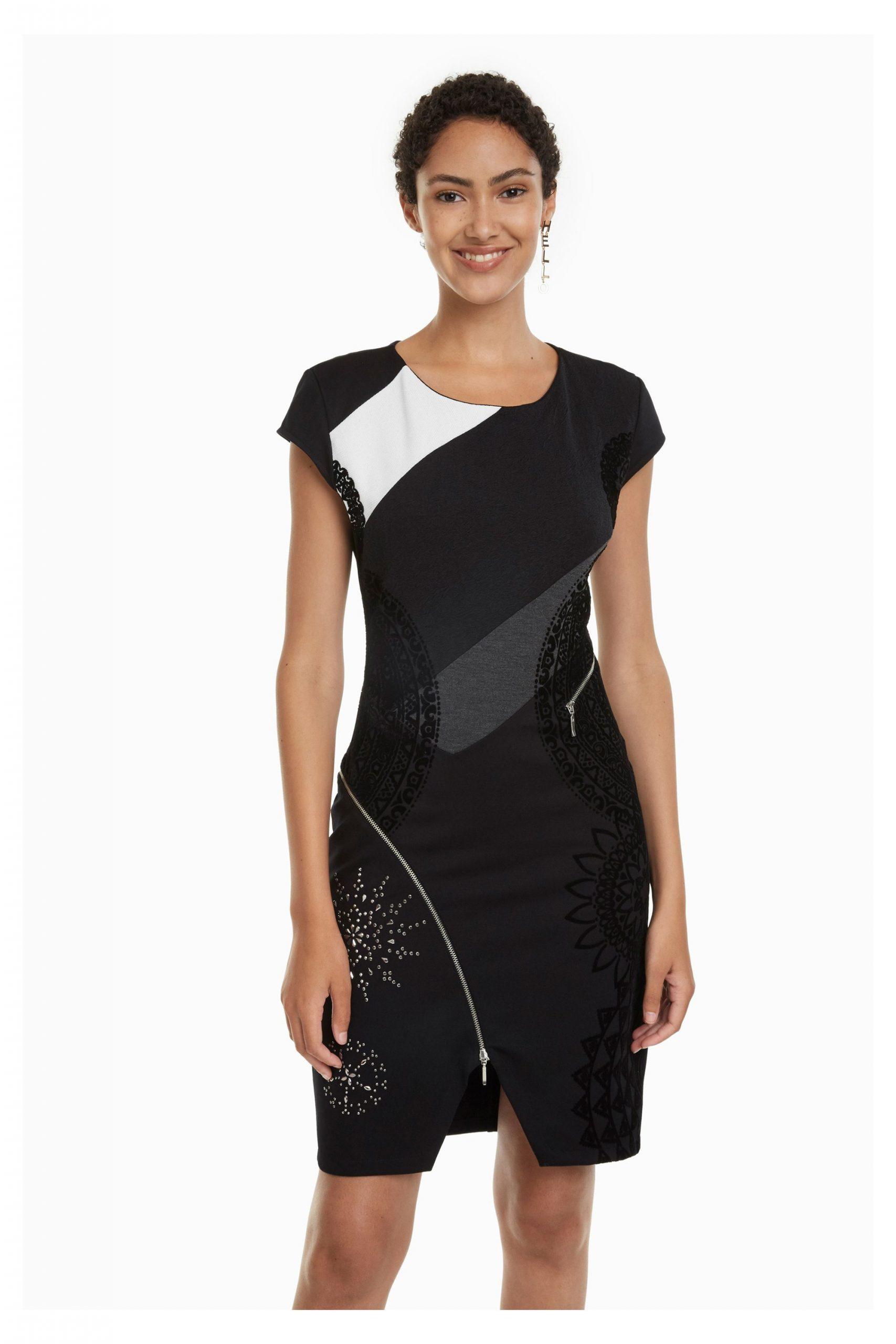 Desigual Lidia Damen Kleid  Kleider  Bekleidung  Damen