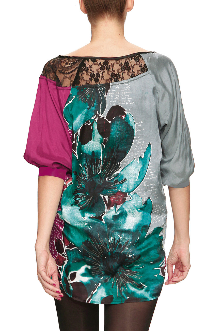 Desigual Lispo Kleid Pinkgrau Gr 40  Born2Style Fashion