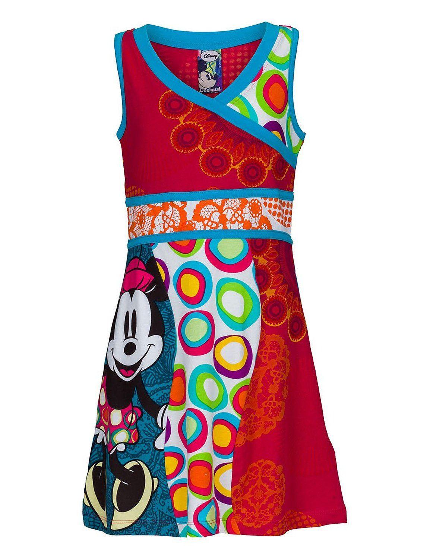 Desigual Mädchen Kleid Uva Amazonde Bekleidung