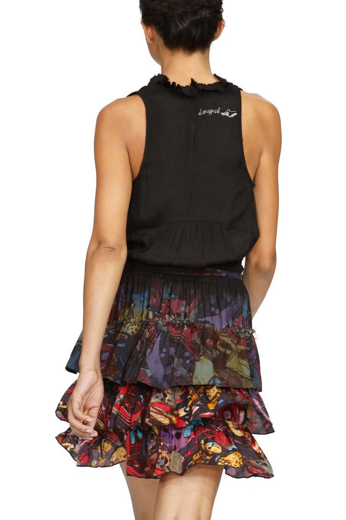 Desigual Turina Kleid Schwarz Gr42  Born2Style Fashion Store