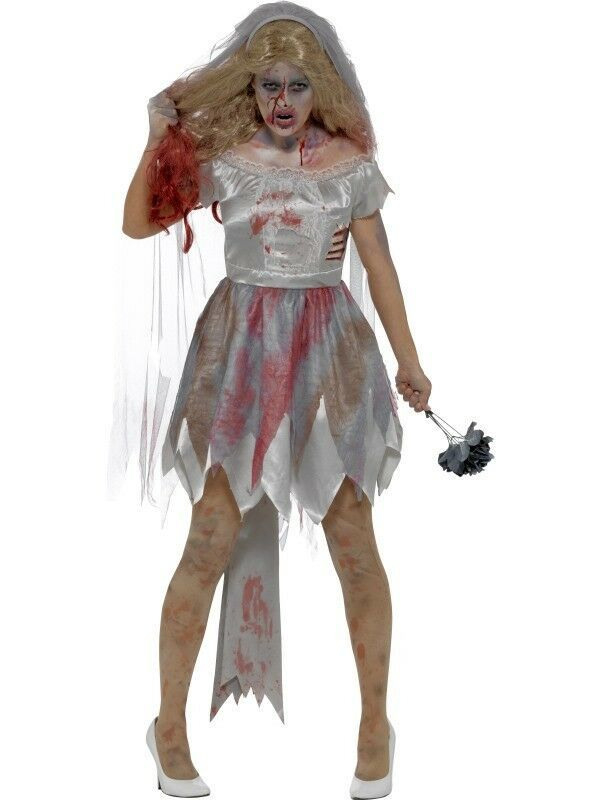 Details About Zombie Costume Womens Over 40 Variants