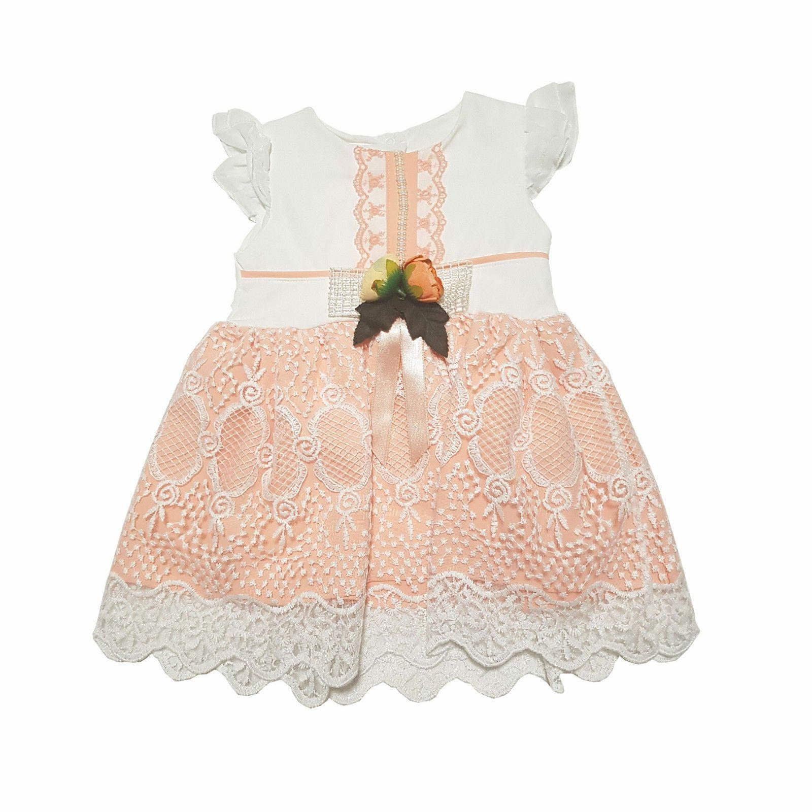 Details Zu Baby Festkleid Mädchen Hochzeit  Blumenmädchen