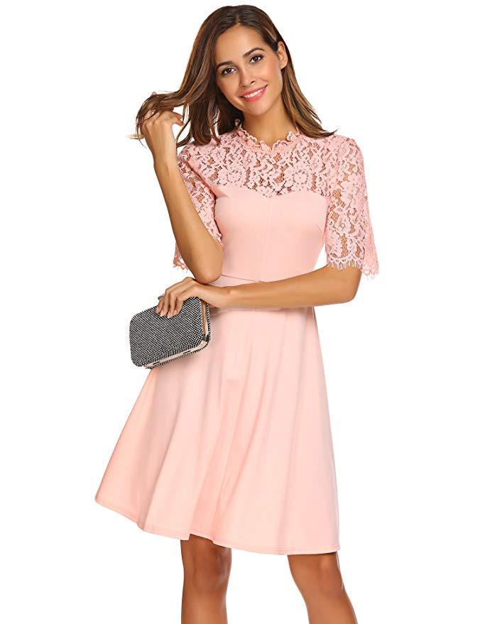 10 Luxus Lachsfarbenes Kleid Armel Abendkleid