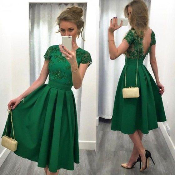 Die Besten 25 Grünes Kleid Ideen Auf Pinterest  Modeste