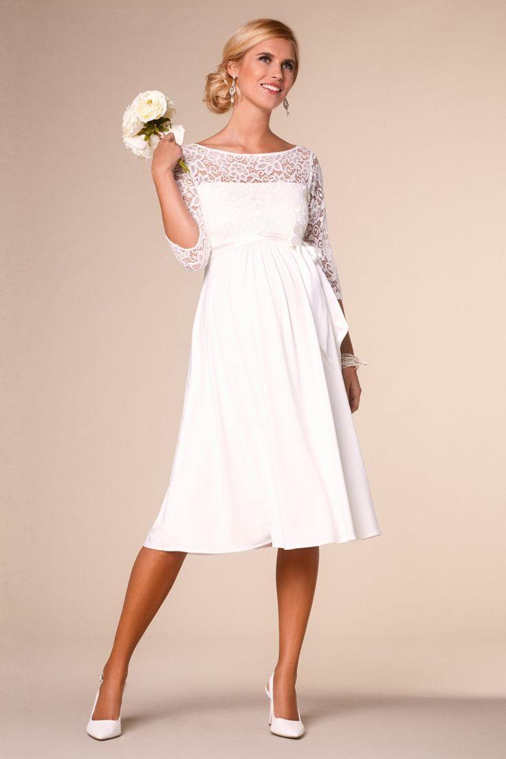 Die Besten 25 Hochzeitskleider Für Schwangere Ideen Auf