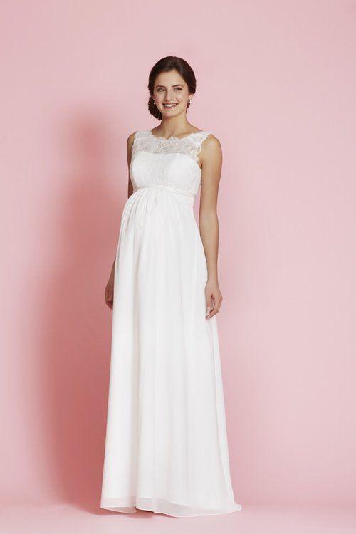 Die Schönsten Brautkleider Für Schwangere Bräute
