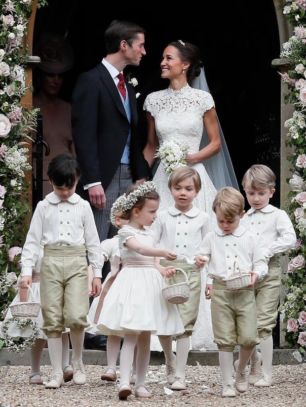 Die Schönsten Fotos Von Pippa Middletons Hochzeit • Womanat