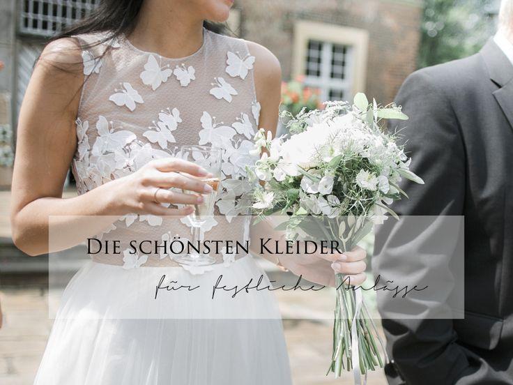 Die Schönsten Kleider Für Festliche Anlässe  Hochzeit