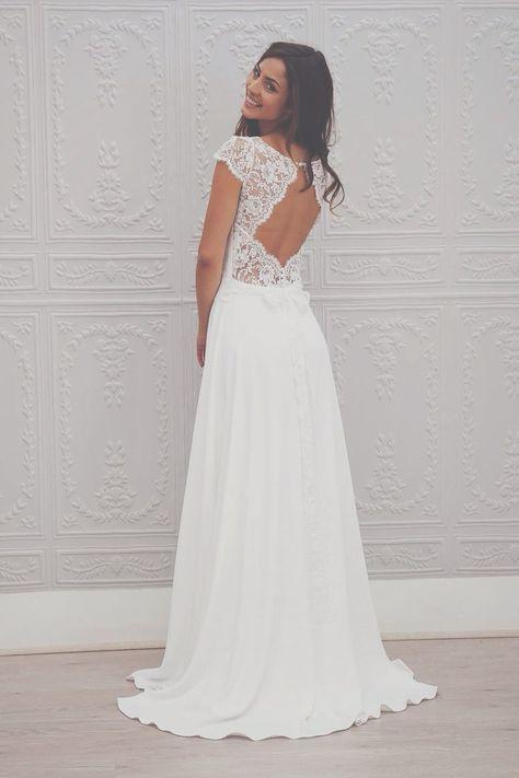 Die Suche Nach Einem Brautkleid  Durch Ein Sehr