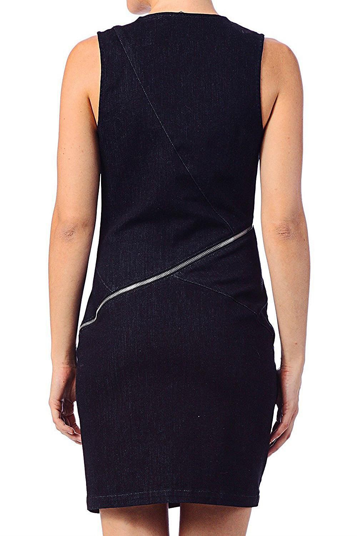 Diesel Deorizon Abito Damen Kleid Jeanskleid  Ebay