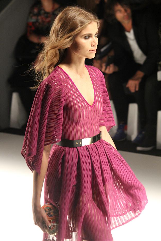 Dimitri Fashionshow Fashion Week Juli 2015 Rosa