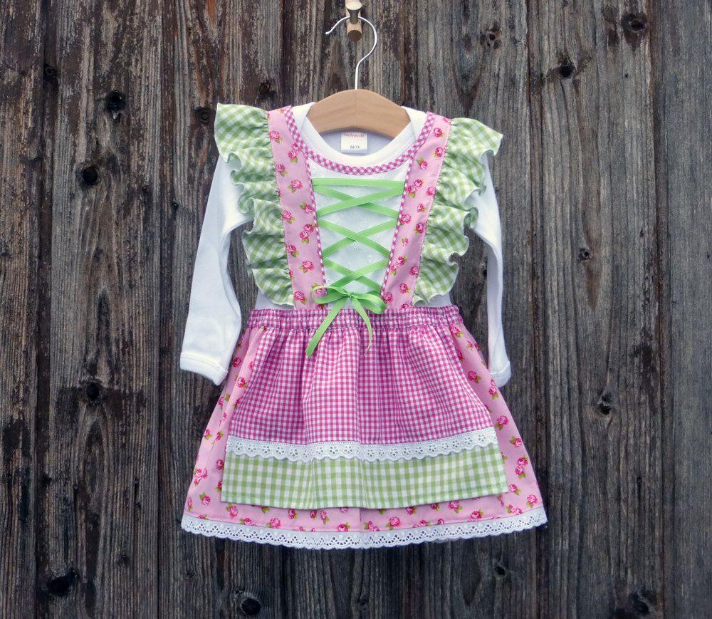 Dirndl Fürs Kind Kleid Fürs Oktoberfest Bayerisches