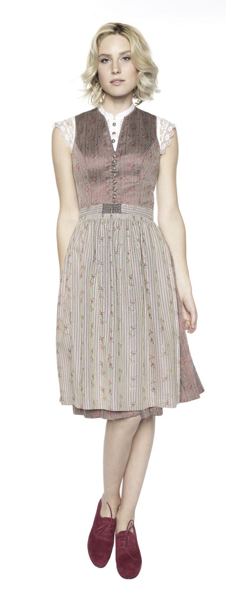 Dirndl Madleen  Designer Kleider Zweiteiliges Kleid Und