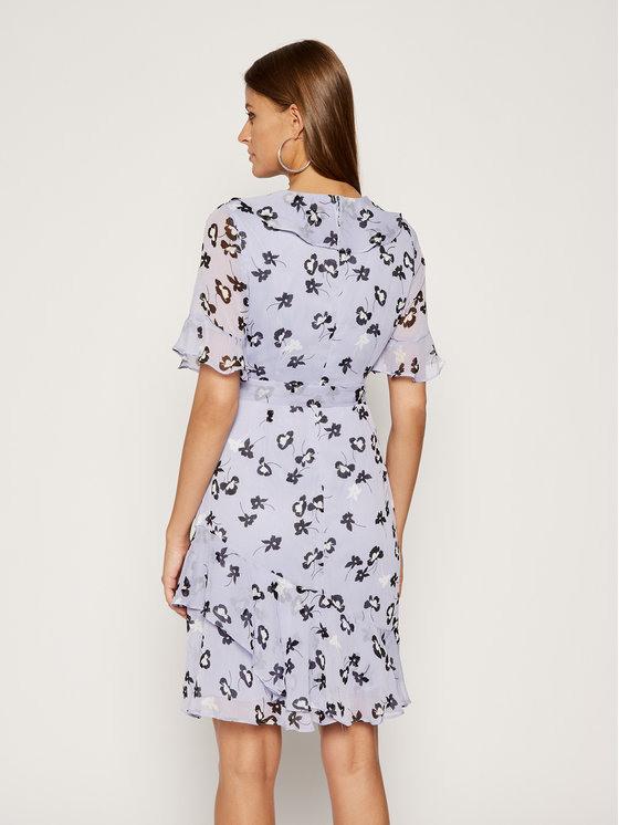 Dkny Kleid Für Den Alltag Dd0B3059 Blau Regular Fit