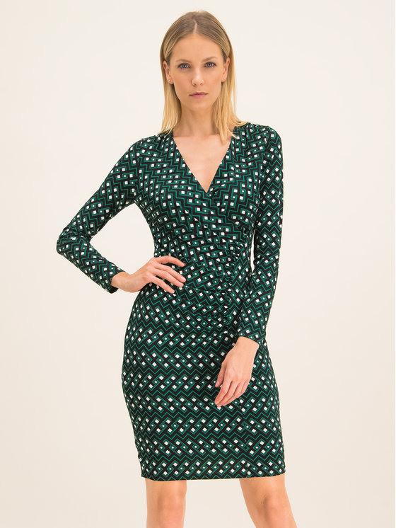Dkny Kleid Für Den Alltag Dd9J7286 Grün Regular Fit
