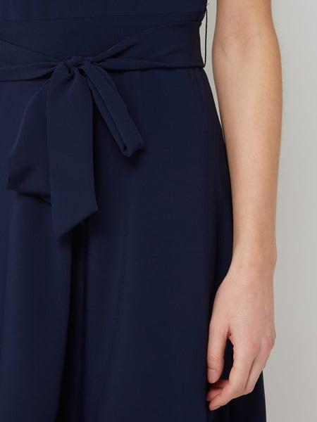 Dkny Kleid Im Zweifarbigen Design In Blau / Türkis Online