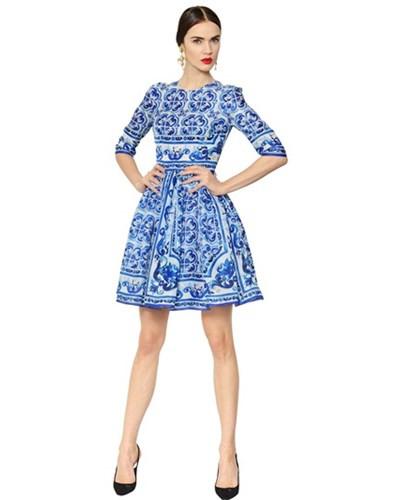 Dolce  Gabbana Damen Dolce  Gabbana  Kleid Aus