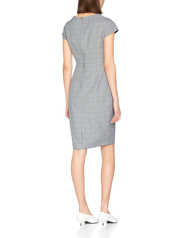 Dorothy Perkins Damen Kleid Fold Neck Poly B0769Xnc39