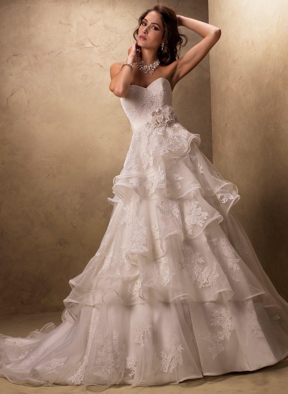 Dp22924  Kleid Hochzeit Hochzeitskleid Tüll
