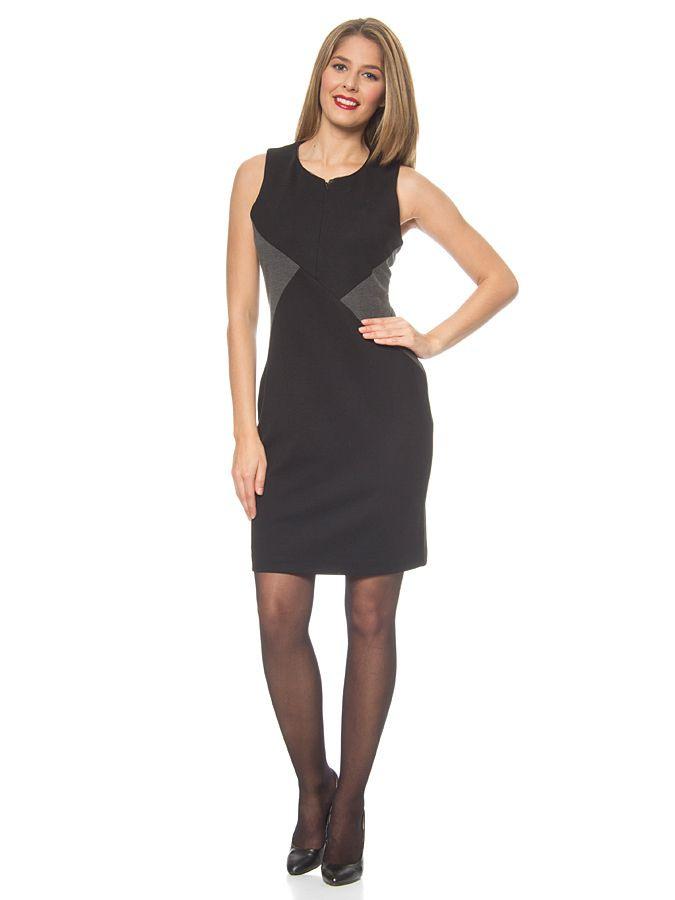 Dress In Black/Grey Mexx  Little Black Dress Fashion