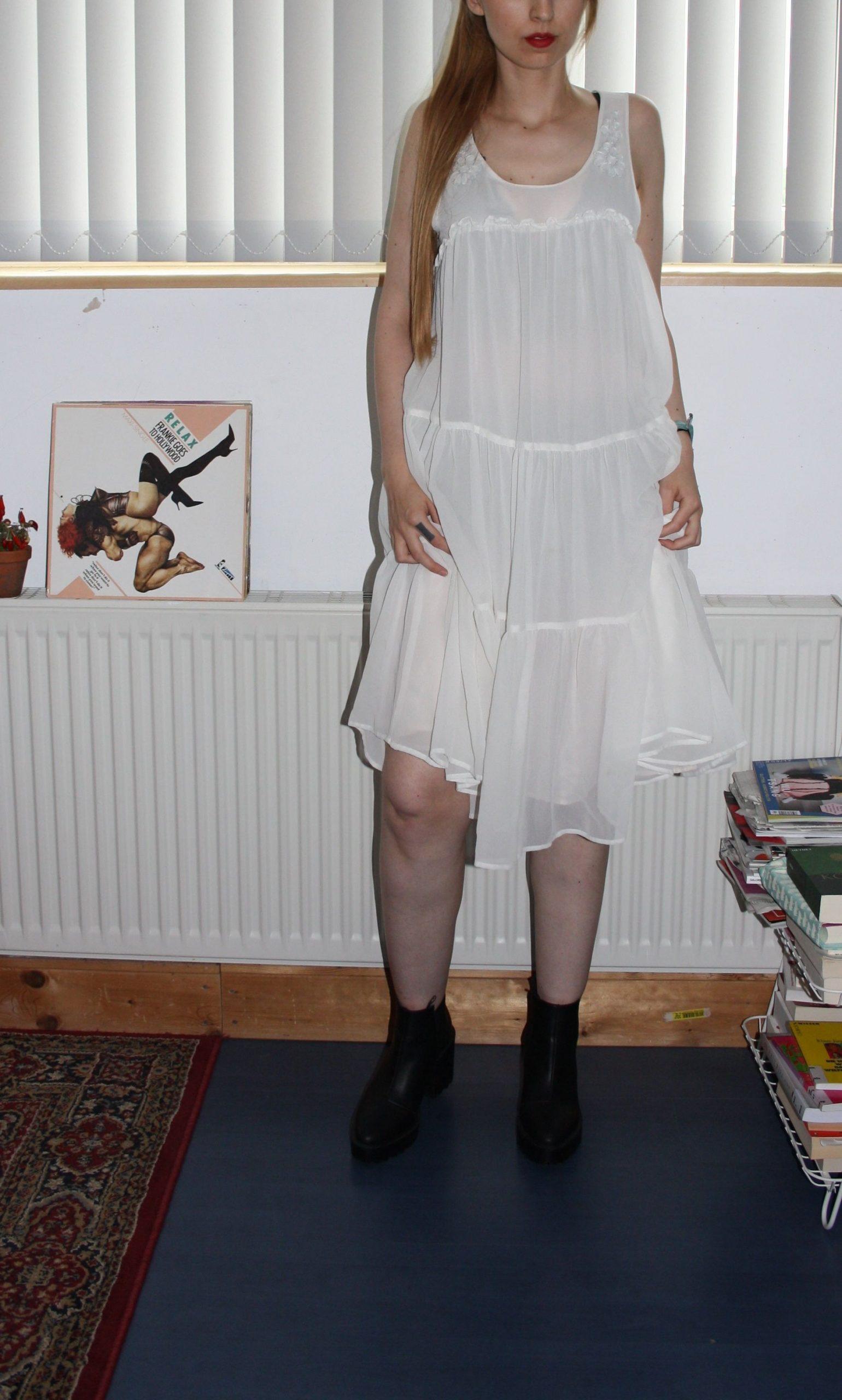 Dress Whitedress Blogger Kleiderkreisel Longdress