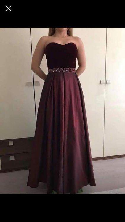 Dunkelrotes Abendkleid Kaufen Auf Ricardoch