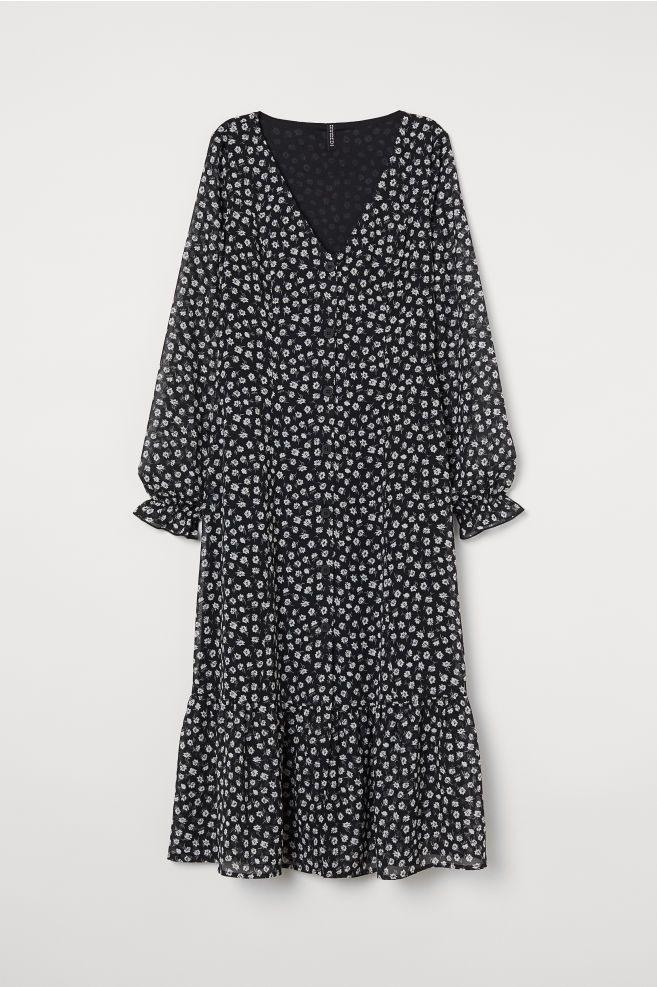 Durchgeknöpftes Kleid In 2020  Kleider Kleider Hm Und