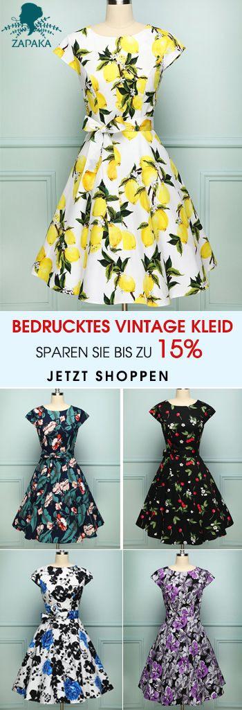 ♫Schnelle Lieferung  Auf Lager♬  Print Dress Dress
