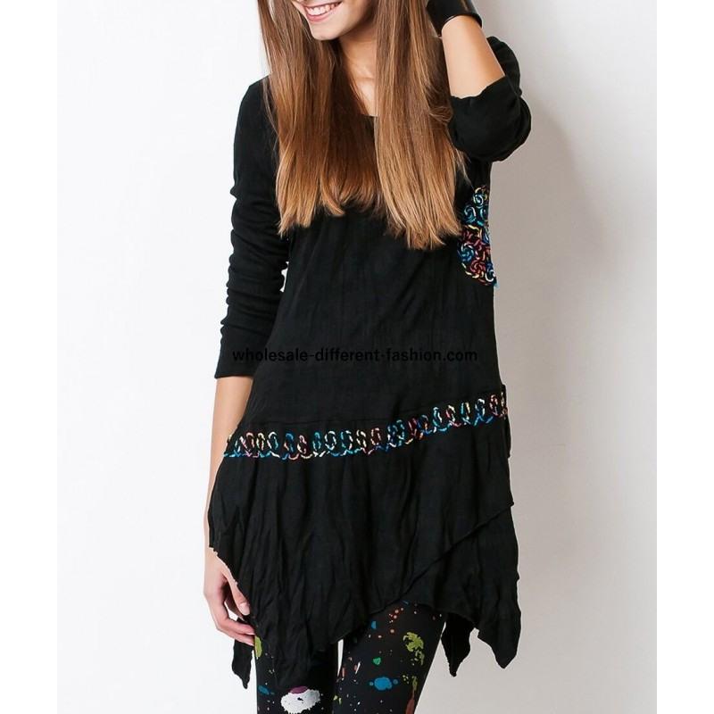 【Großhandel Online Shop Für Damenmode】 Kleider Tuniken