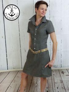 Ebook / Schnittmuster Lillesol Women No26 Jeanskleid