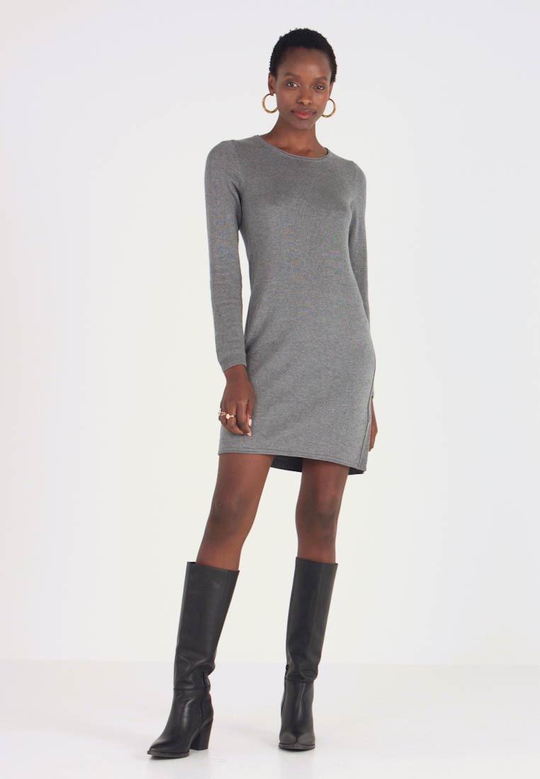 Edcesprit Dress  Strickkleid  Gunmetal/Anthrazit