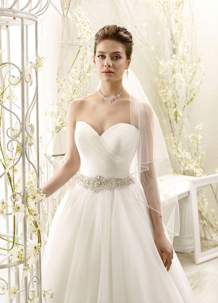 Eddy K  Braut Kleid Hochzeit Brautkleid