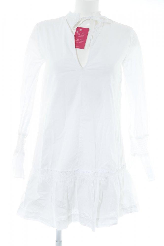 Edited Hemdblusenkleid Weiß Elegant Damen Gr De 36 Weiß