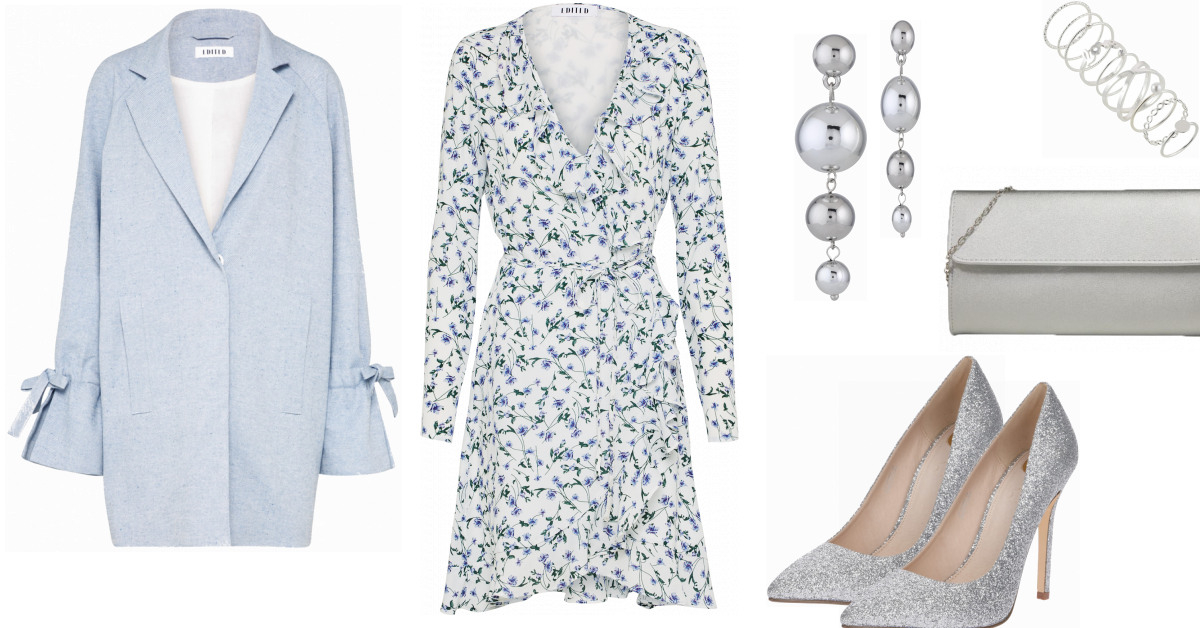 Edited Kleid Damen Outfit  Komplettes Abend Outfit