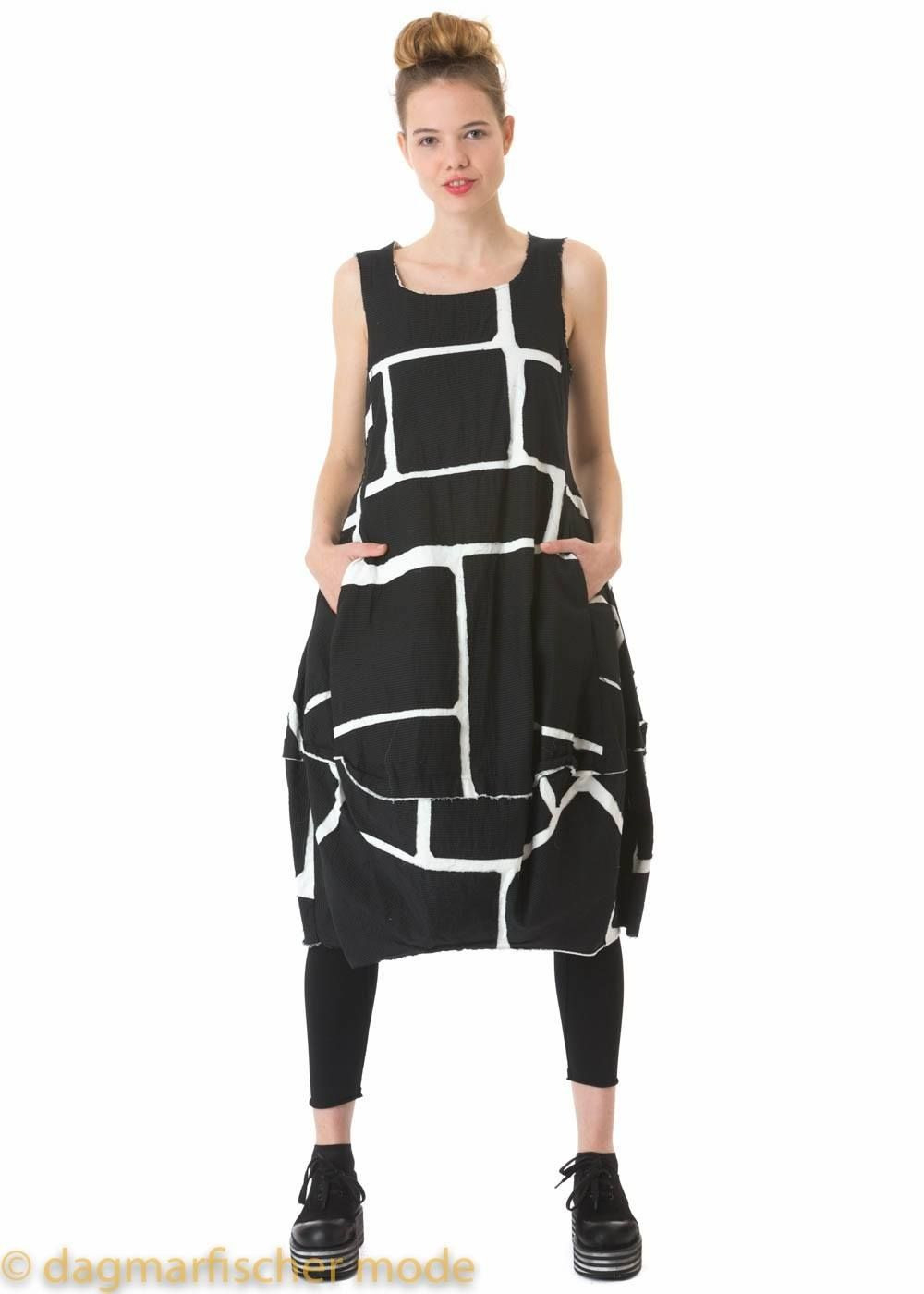 Edles Kleid In Off White Von Rundholz  Dagmarfischer Mode