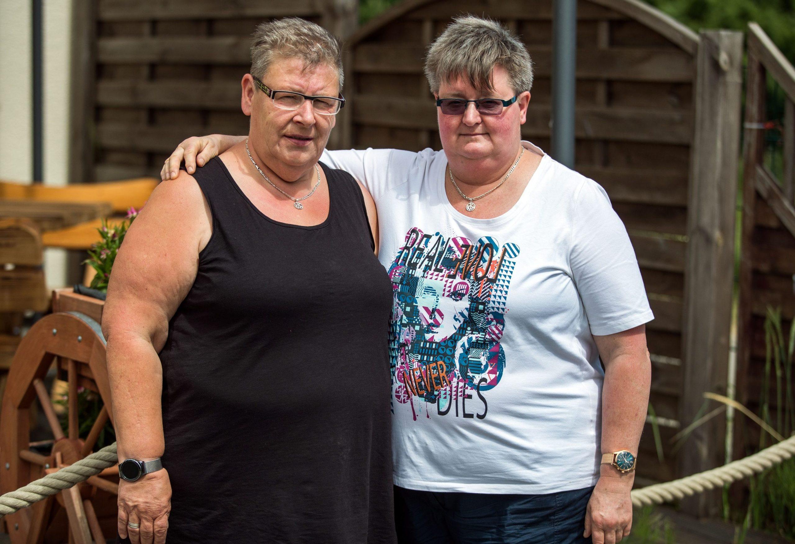Ehe Für Alle Das Lesbische Paar Das Die Kanzlerin