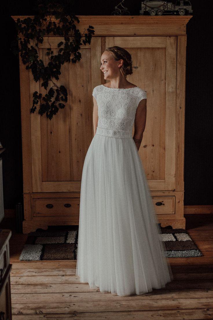 Ein Bezauberndes Rückenfreies Kleid Für Die Zarte Braut