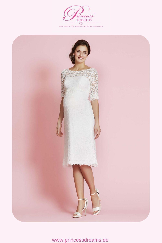 Ein Brautkleid Für Schwangere Dieses Schöne