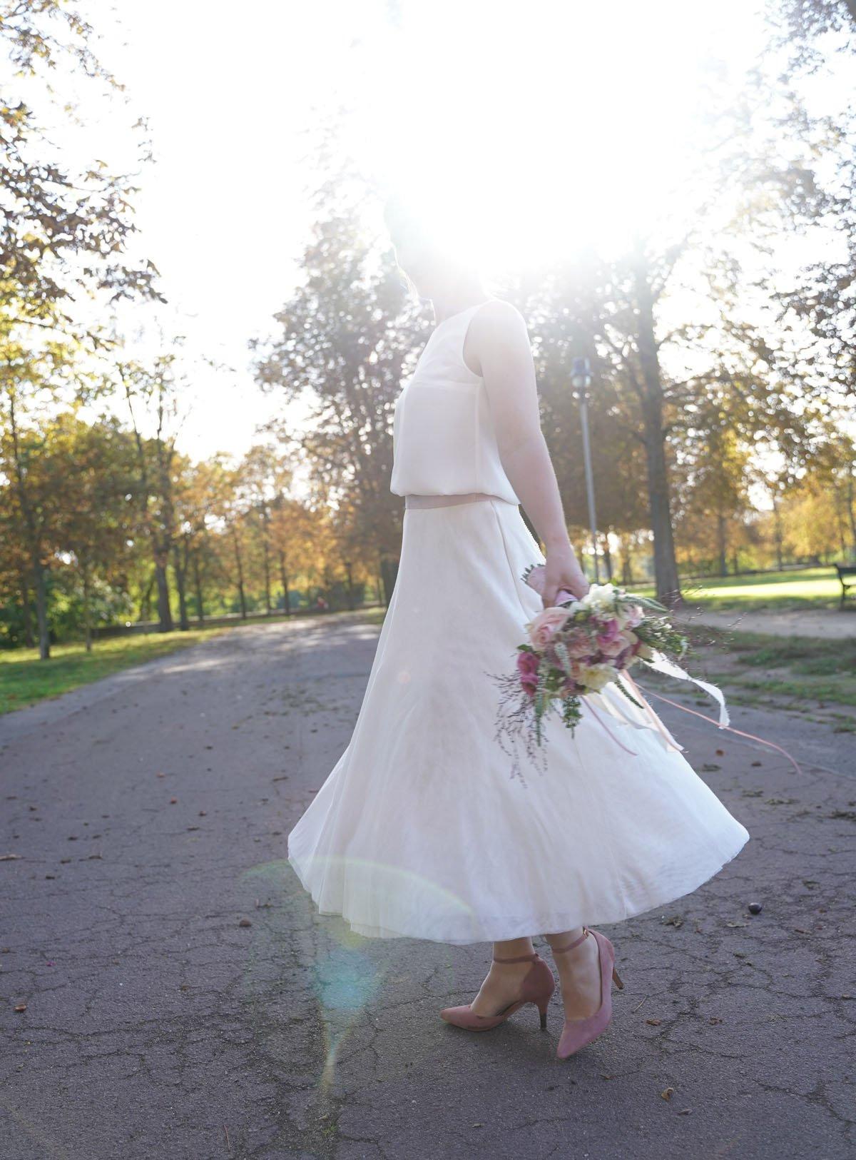 Ein Schlichtes Hochzeitskleid Nähen  Das Tutorial Teil 1