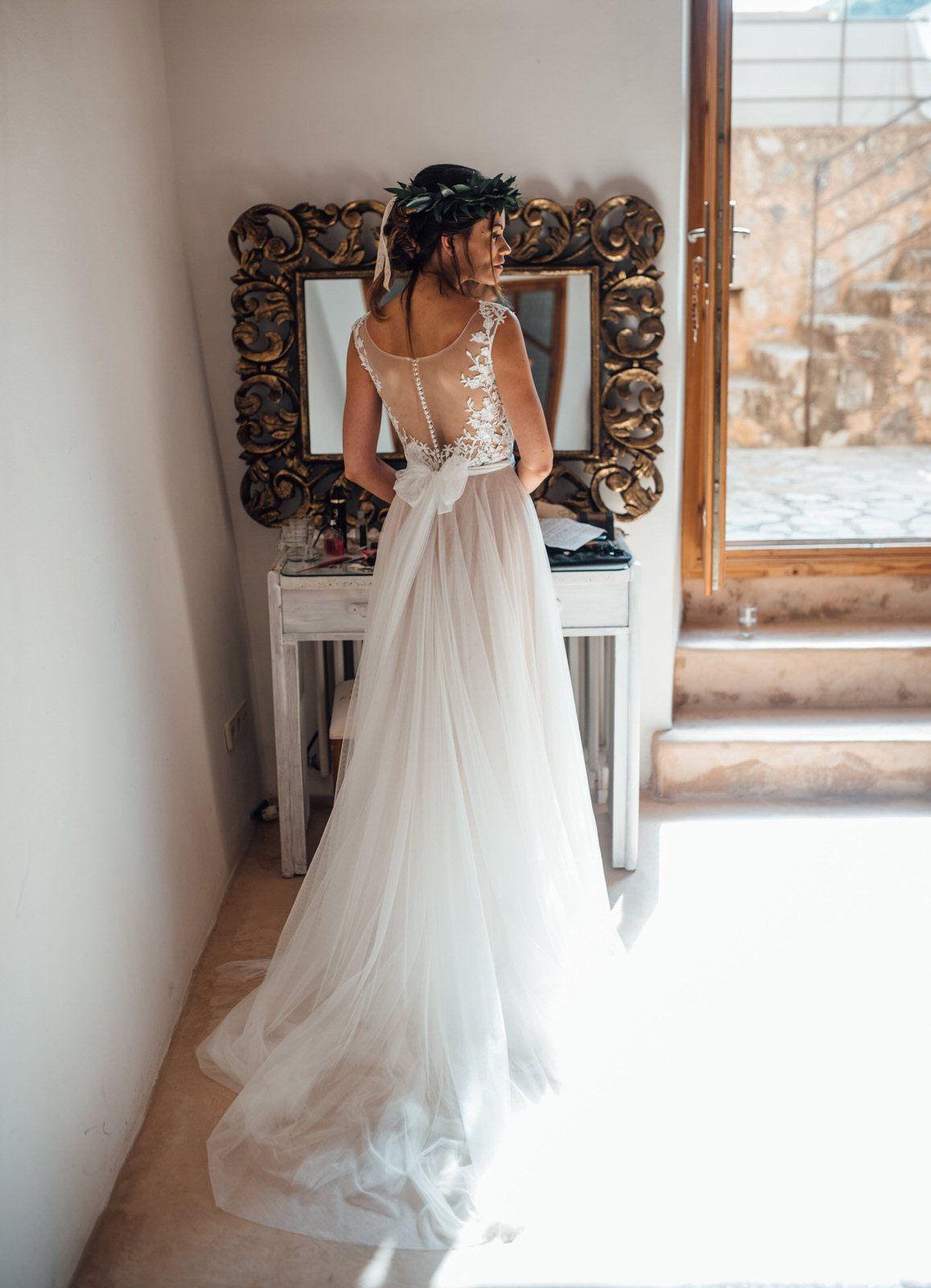 Eine Boho Hochzeit Auf Mallorca Mit Bildern  Boho