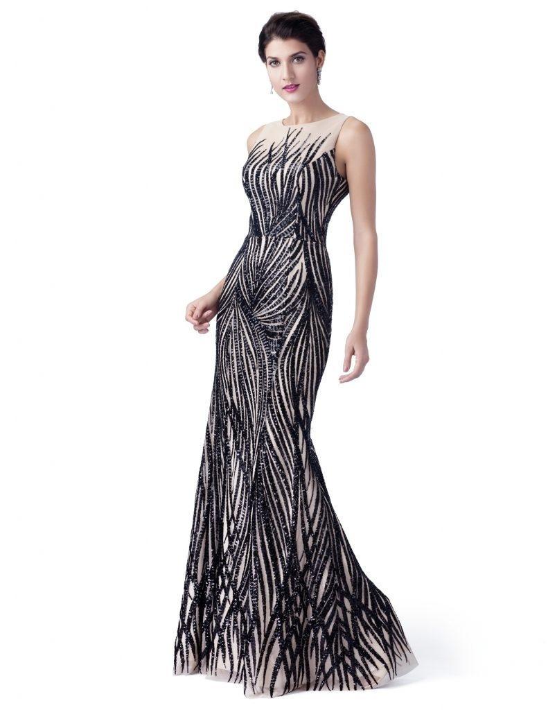 Einfach Marken Abend Kleider Bester Preis  Abendkleid