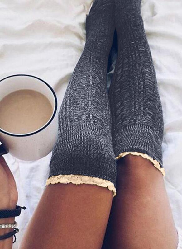 Einfarbig Atmungsaktiv/Komfortabel/Damen/Kneehigh Socks