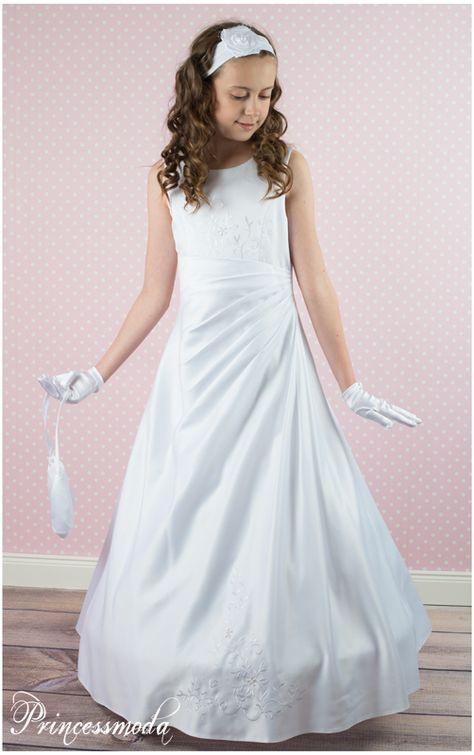 Einmalig Elegant Kommunionkleid Von Princessmoda