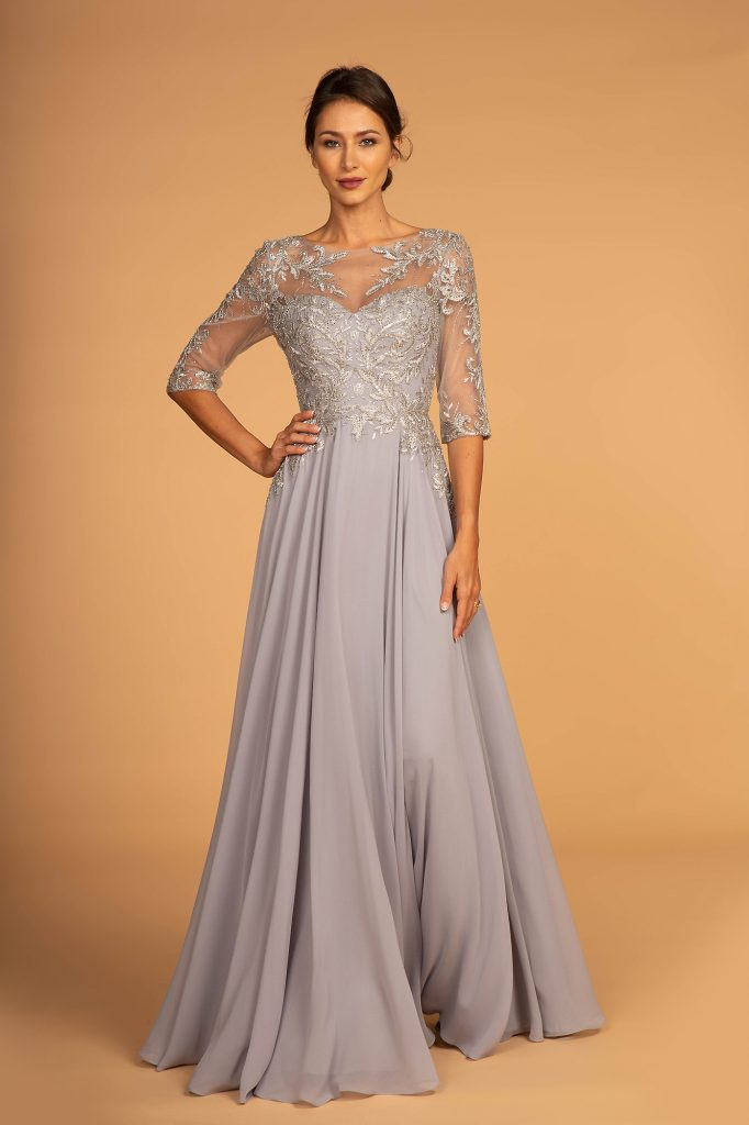 Elegante Ballkleid Silberbraut Tp Kleider Abendkleid